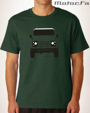 Tshirt Defender basica verde