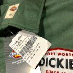 camisa DICKIES verde com logos OffRoad