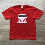 Tshirt Kombi vermelha