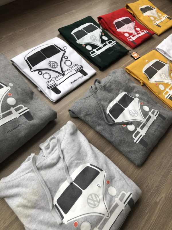 camisetas Kombi