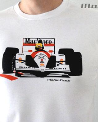 Tshirts F1 Senna McLaren