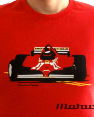 Tshirts F1 Villeneuve