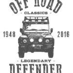 Tshirt Defender 1948-2016