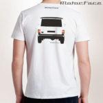 Tshirt BRANCA Range Rover CLASSIC