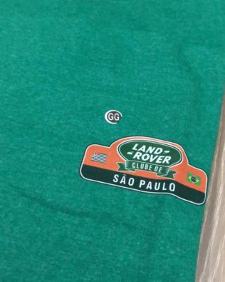 Tshirt verde LRclubeSP