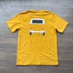 Tshirt Kombi amarela