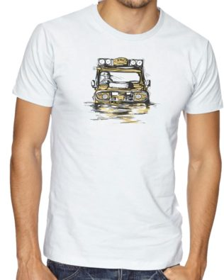 Tshirt Defender CAMEL equipada