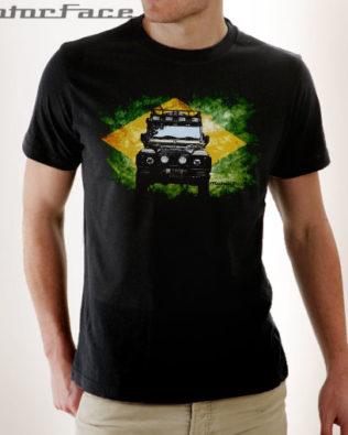 Tshirt Defender BRASIL FLAG