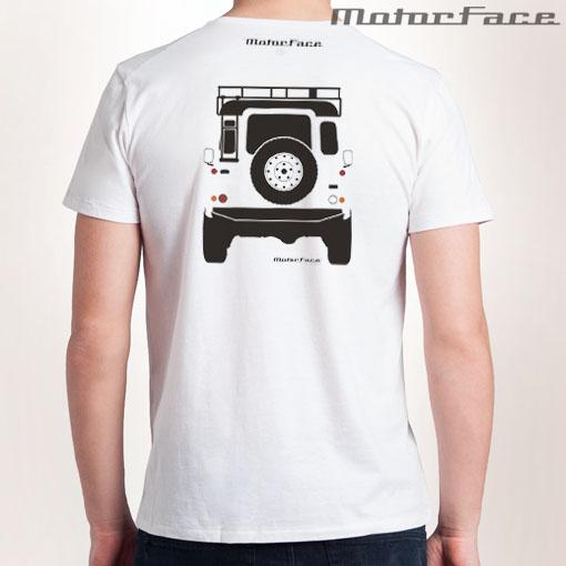 Tshirt BRANCA Defender equipada