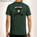 Tshirt VERDE Defender equipada