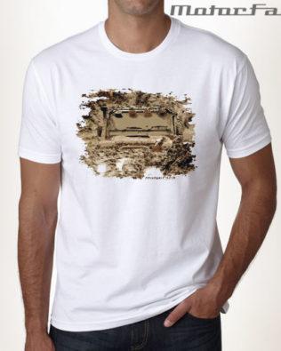 Tshirt BRANCA Defender MUD 02