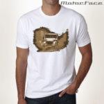 Tshirt BRANCA Defender MUD 03