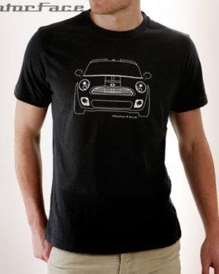 Tshirt Mini Cooper Outline