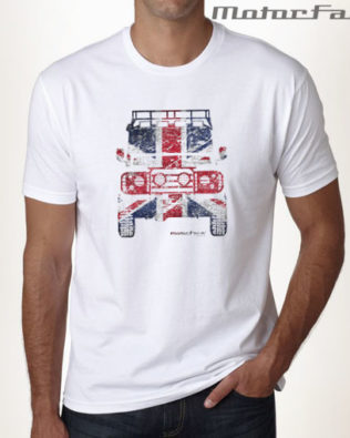 Tshirt BRANCA Defender UK MESH