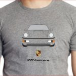 Tshirt Porsche 911 ano 1991